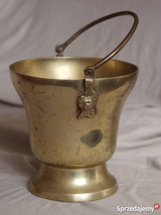 Czajnik mosiądz dzwonek swieczniki i inne Płońsk