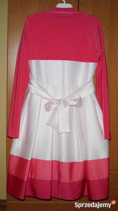 4a3abbb2a4 Piękna sukienka suknia bolerko wesele komunia Czerwionka-Leszczyny
