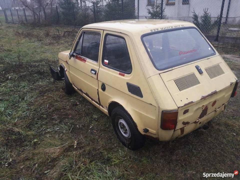 Fiat 126 maluch ZAMIANA SPRZEDAM bez papierów 1000KM Jesionka
