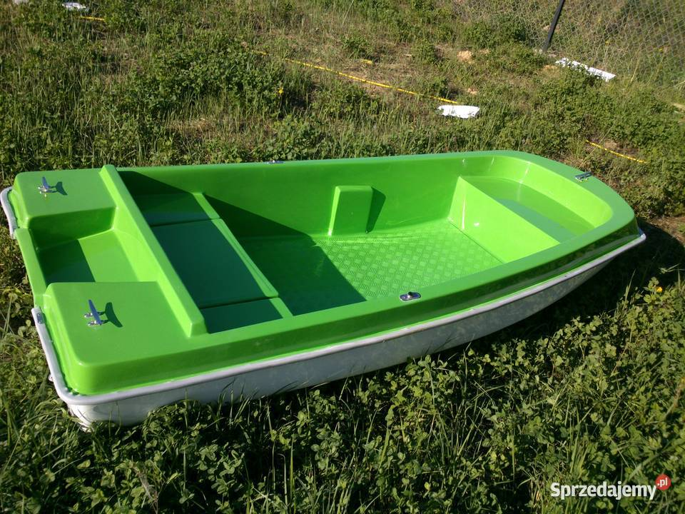 płaskodenna łódź wiosła motorowa łódka Lucas 290