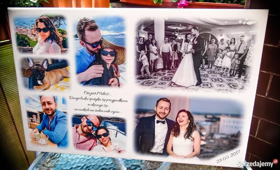 Podziękowania ślubne rodziców NA DESCE prezent Szczawno-Zdrój sprzedam