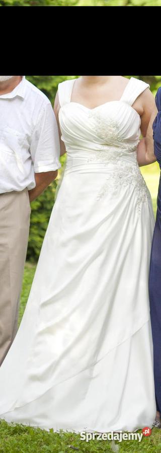 c0fe6b8de4 Suknia Ślubna CLASSA roz. 44 - Sprzedajemy.pl
