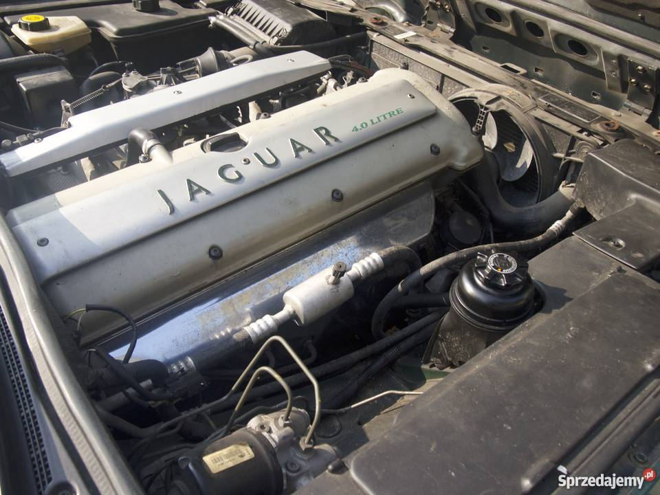 Jaguar X300 Vanden Plus 95 zmieniarka CD mazowieckie Warszawa