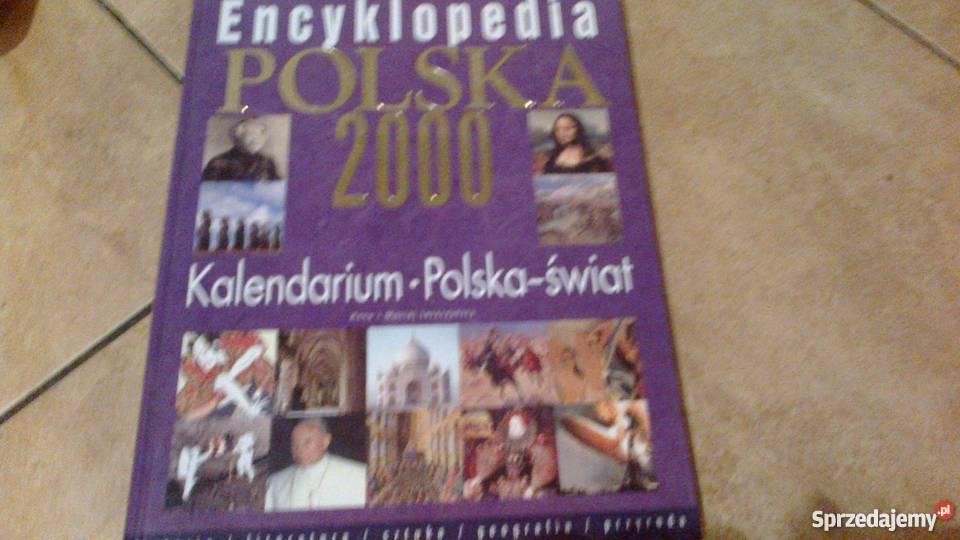 Encyklopedia Polska 2000 kalendarium Polska Rok wydania 2000 Oborniki Śląskie