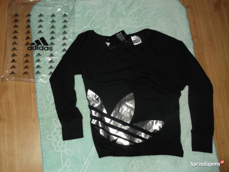 3fb2e1c45 Adidas dres damski XL -30% opadające ramie czarny srebny Bydgoszcz ...