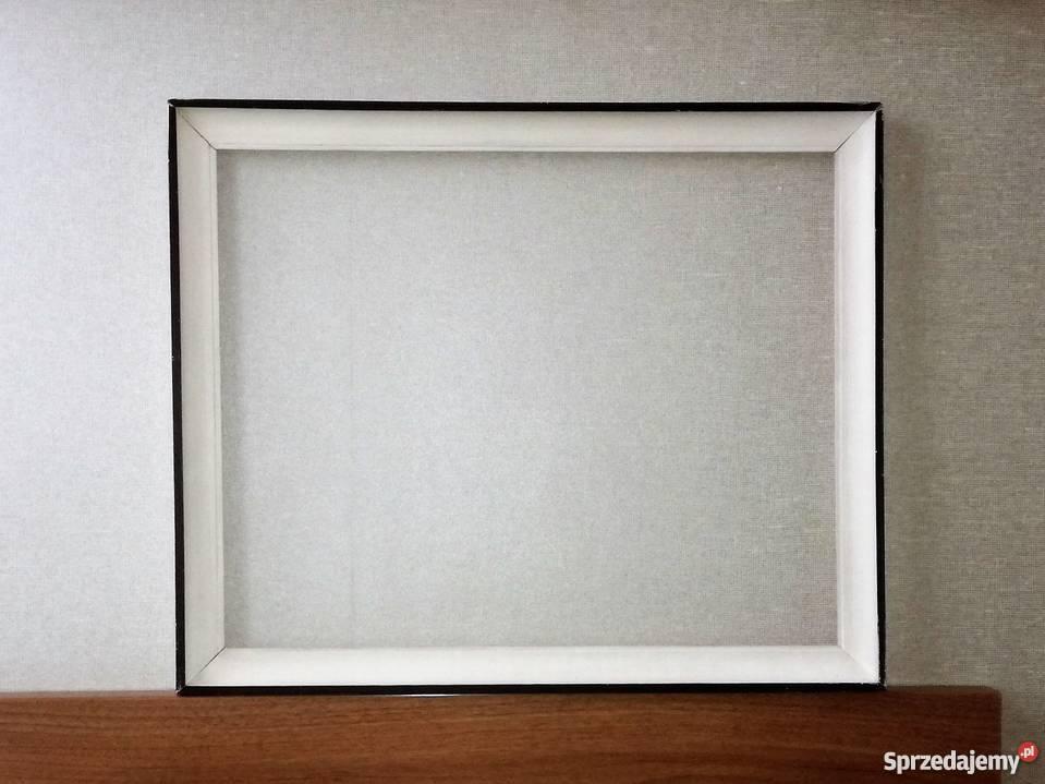Prosta Biała Rama Do Obrazu Grafiki Plakatu Fotografii