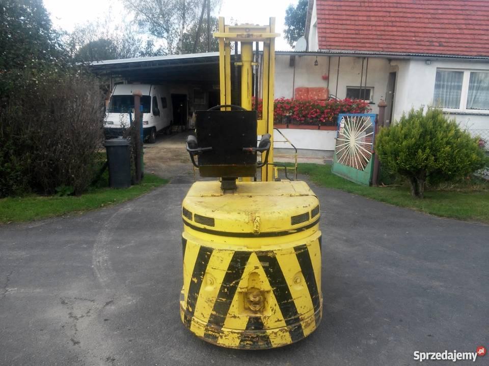 Elektryczny Wózek Widłowy Suchedniów WW 24V elektryczny Zgorzelec