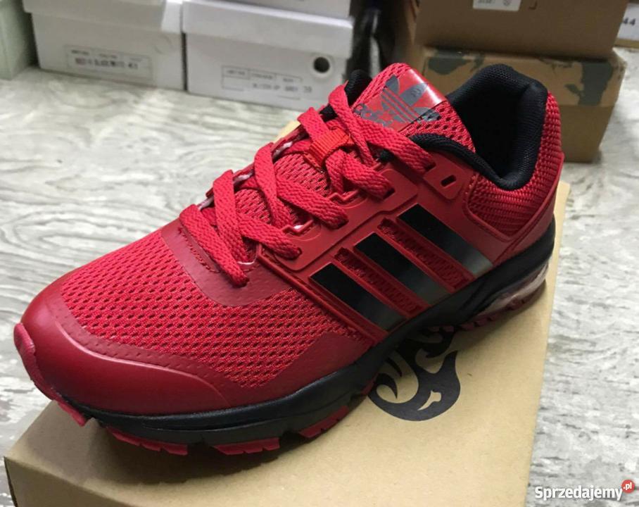 Meskie czerwone Adidasy roz.od 40 do 45
