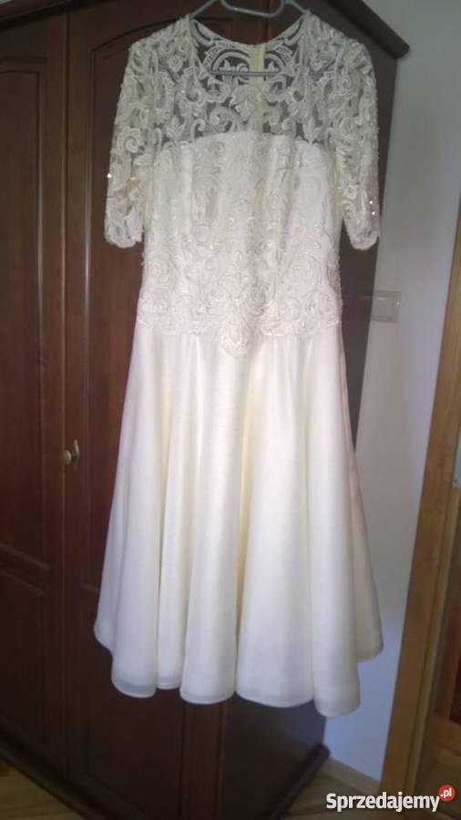 6b7229c87a Sprzedam suknia ślubne do kolana Nowy Sącz - Sprzedajemy.pl