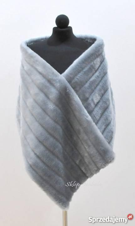 Wspaniały szal do sukienki na wesele - Sprzedajemy.pl OS21