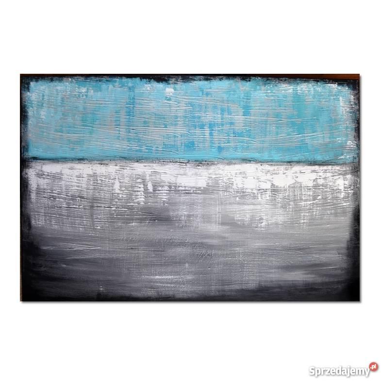 Abstrakcja TS1 nowoczesny obraz ręcznie malowany Malarstwo pomorskie Malbork