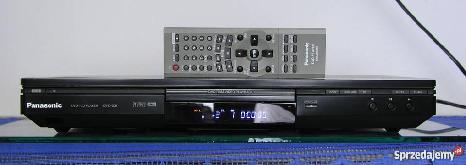 Odtwarzacz DVD Panasonic S-31