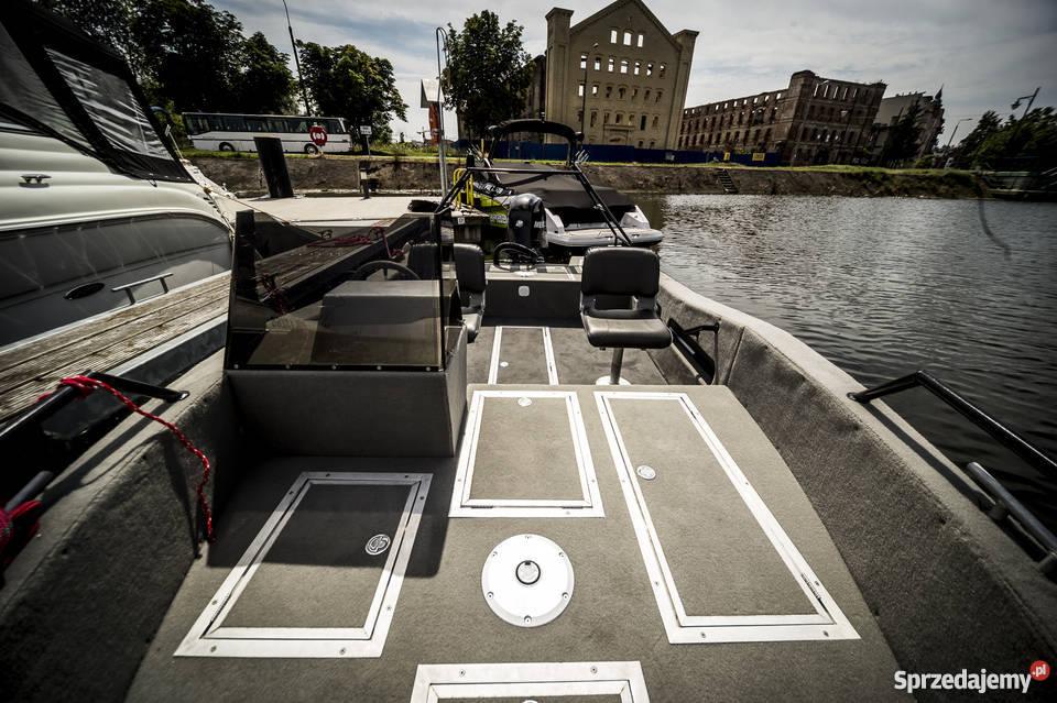 Aluminiowa łódź JTECH F17 Gdańsk