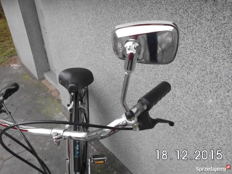 Lusterko do roweru stylowego Nowe chromowane mazowieckie Warszawa