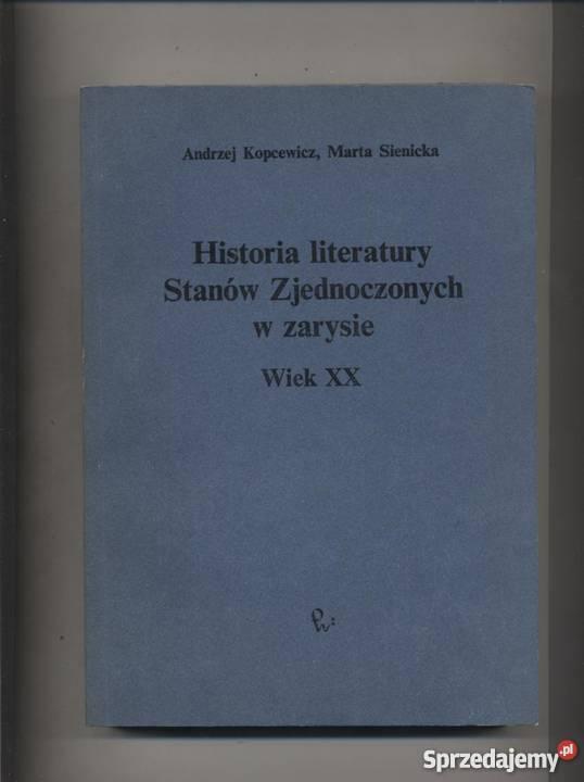 Historia literatury Stanów Zjednoczonych w