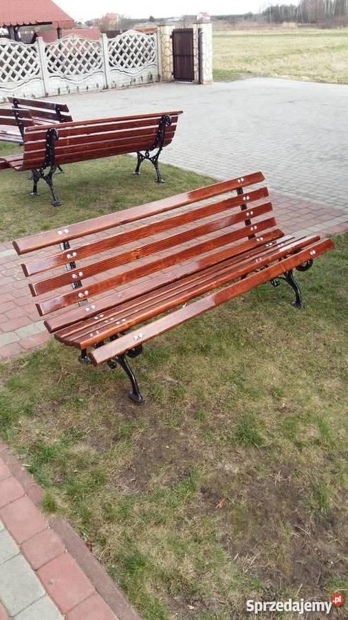 Poważne ławki parkowe - Sprzedajemy.pl CZ02