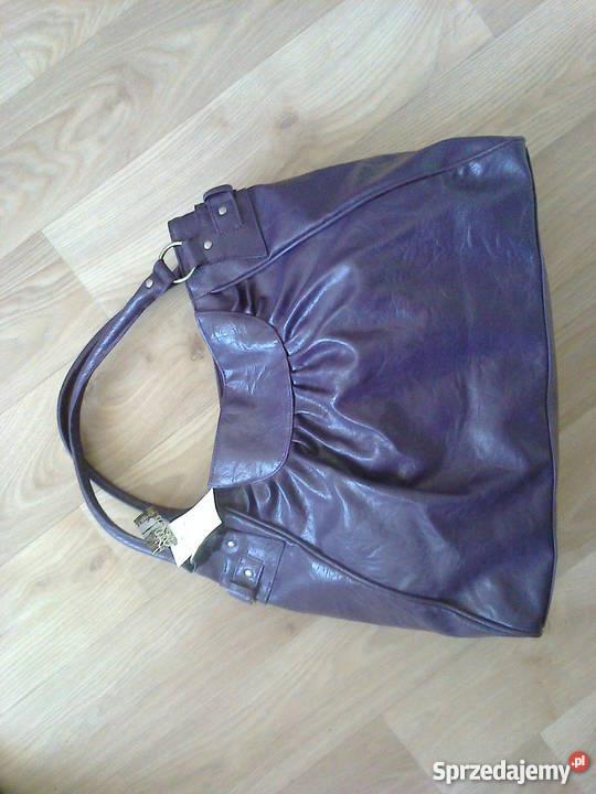 c939ced972997 Fioletowa torba Top Secret Olkusz - Sprzedajemy.pl