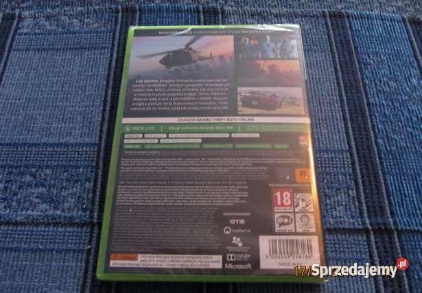 Gta V Xbox 360 Orginał Gry na konsole Kłodzko