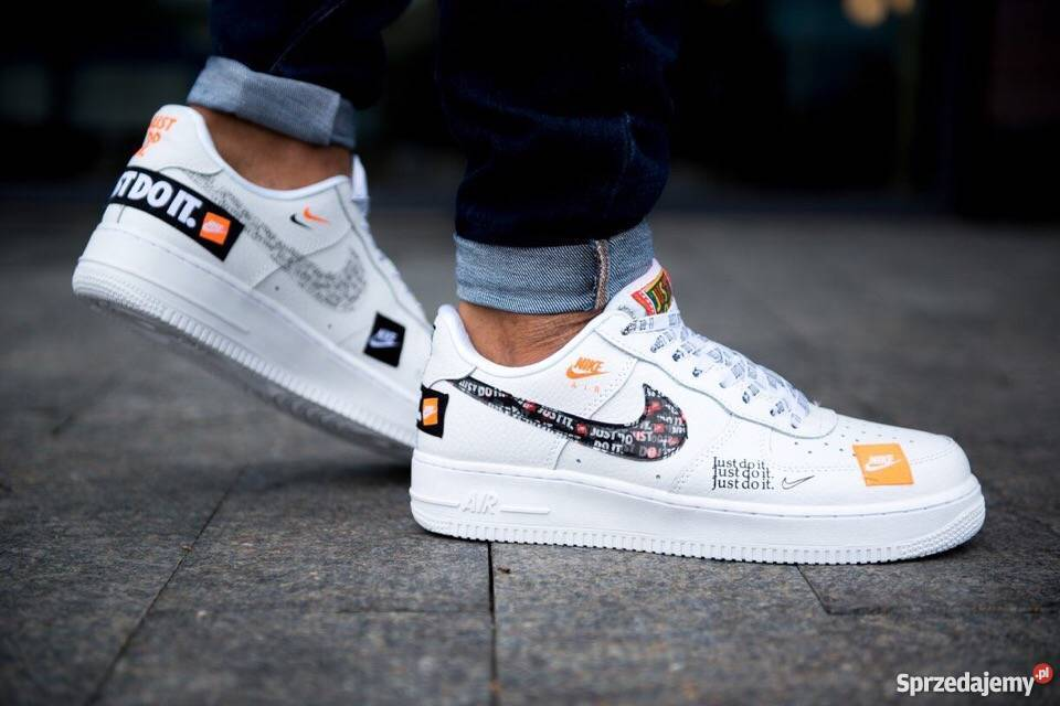 Buty Nike air force 1, 07 prm ,just do it r. 43