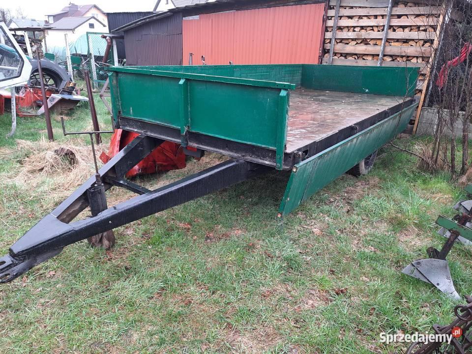 Przyczepa rolnicza jednoosiowa 350 x 180