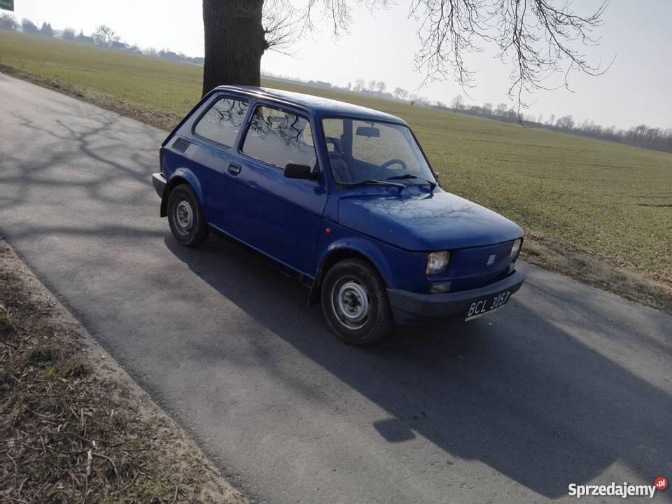 Fiat 126p Zarejestrowany w Polsce Pruszcz
