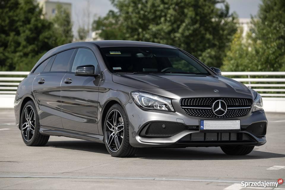 Najpiękniejsze kombi Mercedesa 4Matic 1 CLA Warszawa sprzedam