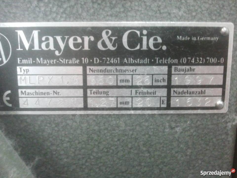 Mayer Typmlpx 16 Pabianice Sprzedajemypl
