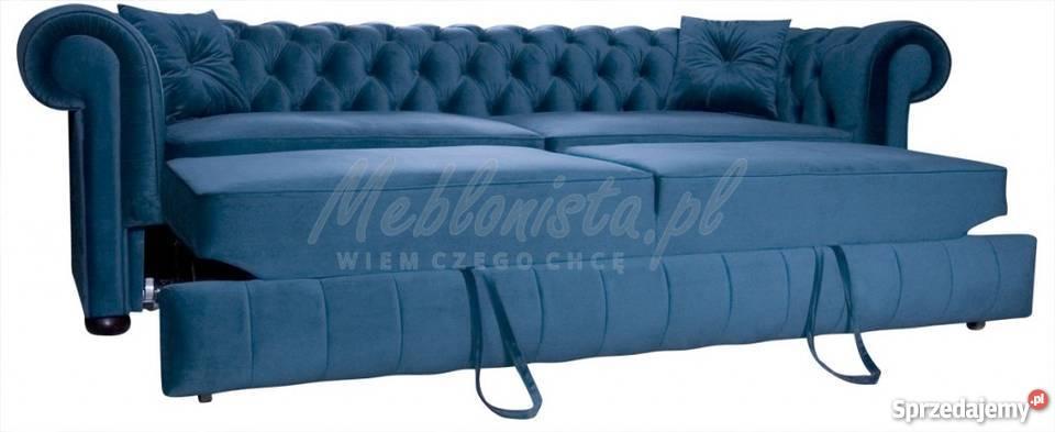 Wszystkie nowe sofy chesterfield z funkcją spania - Sprzedajemy.pl IY84