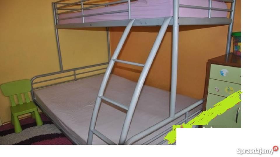 łóżko Piętrowe Trzyosobowe Pruszków Sprzedajemypl