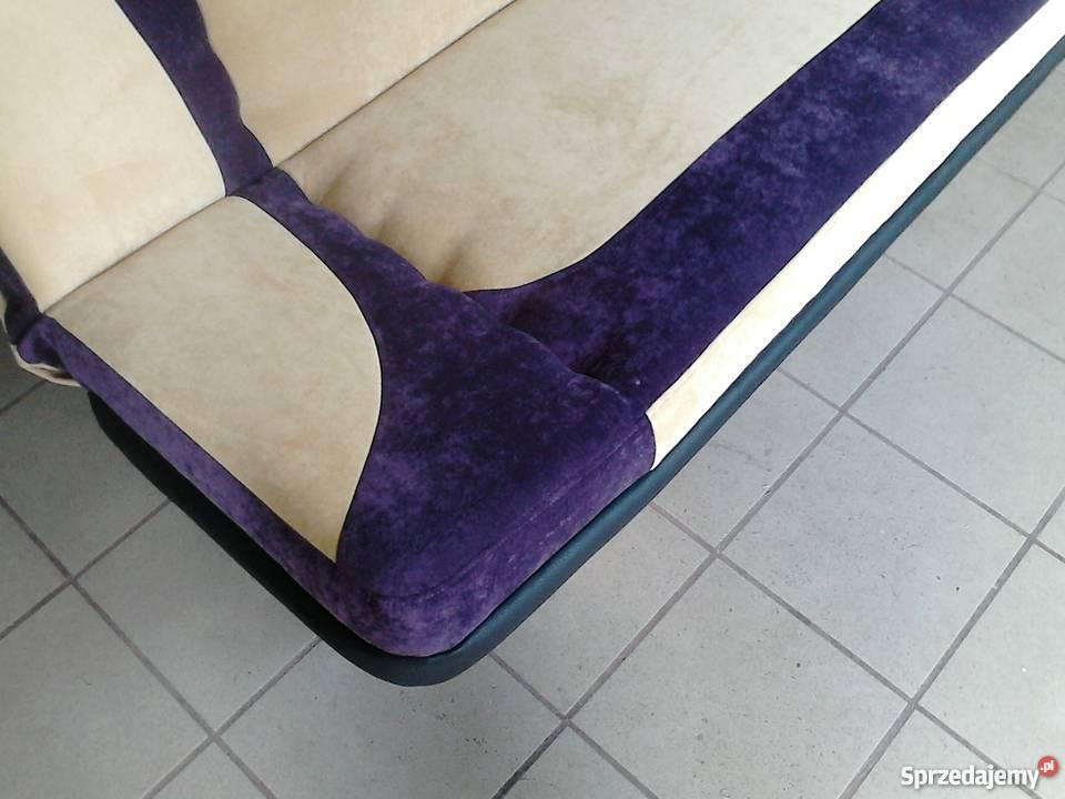wersalka kanapa sofa rozkładana bez boków 196122 tkanina Częstochowa