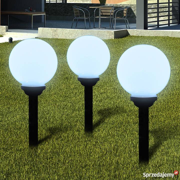 Ogrodowe Lampy Solarne Led 20cm 3szt 40864