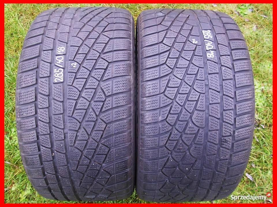 2x Opony Zimowe Pirelli 2854018 28540r18 620mm Sprzedajemypl