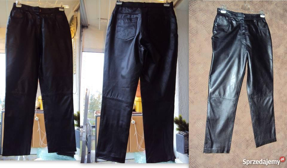 7a9c6c8e Spodnie skórzane