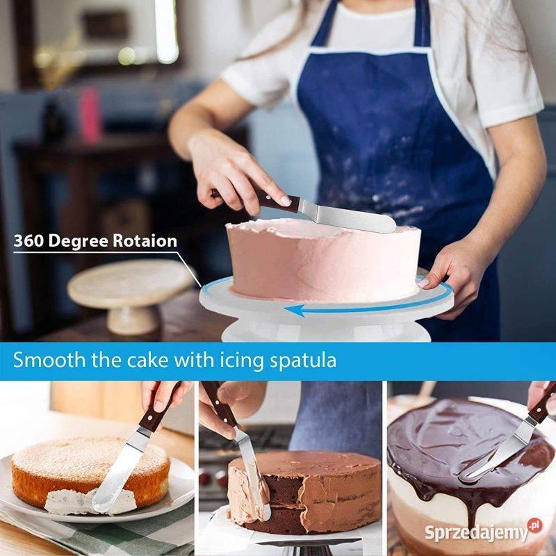 zestaw do dekorowania ciast i tortów