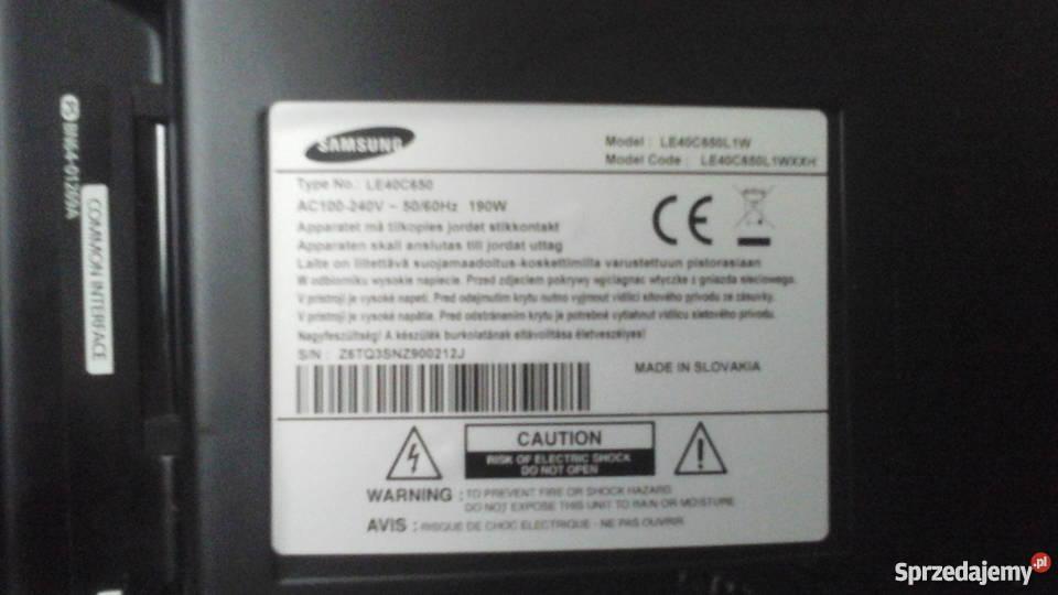 Samsung LC 40 Warszawa