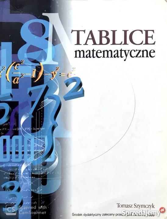 Tablice matematyczne - Tomasz Szymczyk