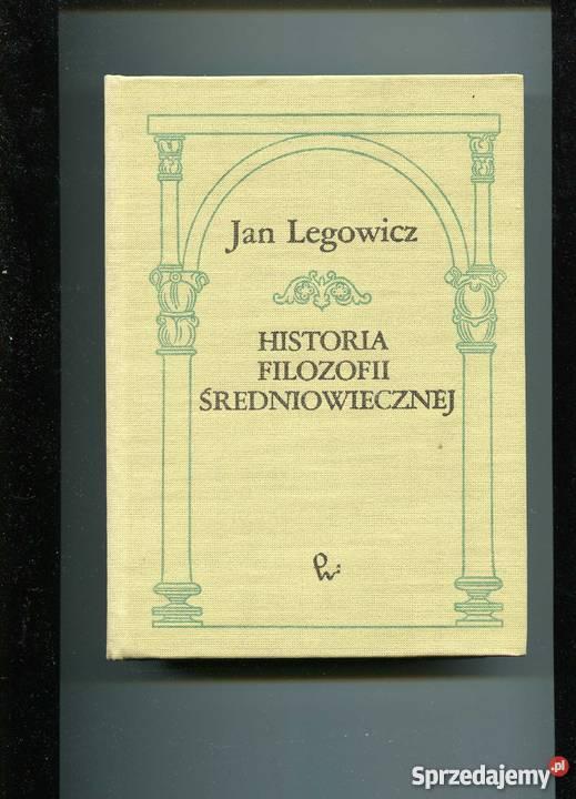 Historia filozofii średniowiecznej