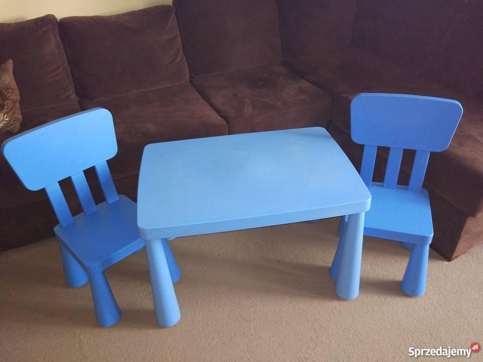 Mammut Ikea Stolik I Krzesełka