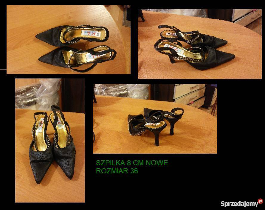 febfcc8b018d0 Nowe czarne buty rozmiar 36 Sandały i klapki Sosnowiec