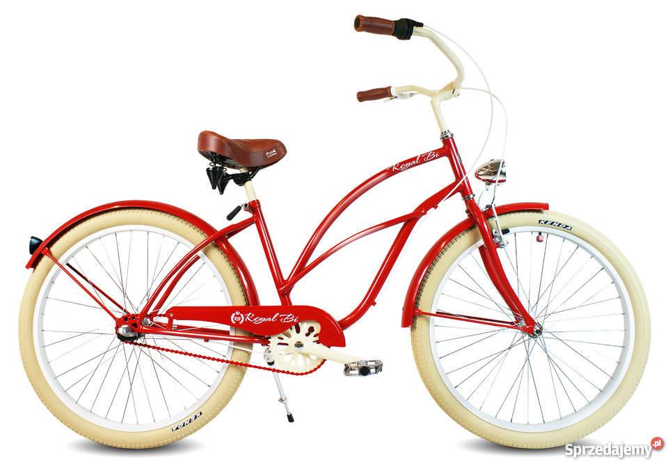 Rowery rower Cruiser RoyalBi NOWE 26 electra Toruń