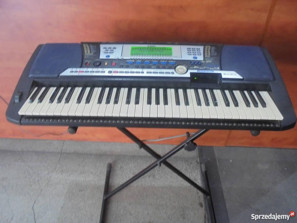 Keyboard Yamaha PSR540 Instrumenty klawiszowe i MIDI śląskie Katowice