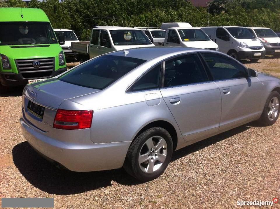 Audi A6 Srebrny Sierakowice Sprzedajemy Pl
