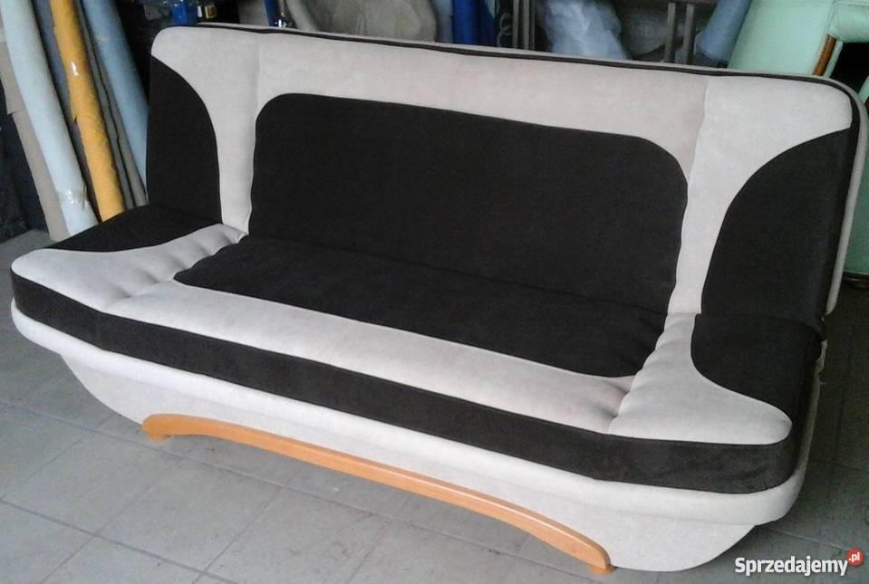 wersalka kanapa sofa rozkładana bez boków 196122 Łóżka, wersalki i sofy