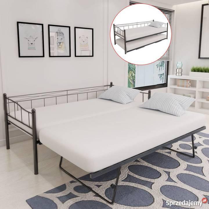 Vidaxl łóżko Rozkładane Tylko Rama 211x100x95 Cm 242682