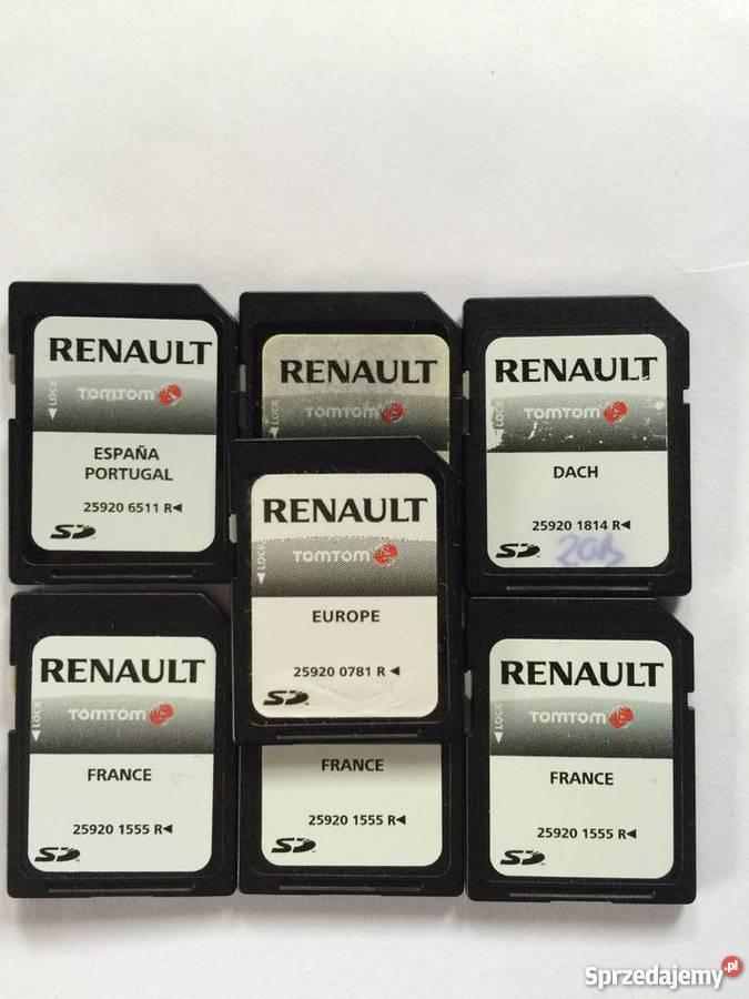 Renault Carminat Tomtom Live Mapy Europy Karta Sd Bielsko Biala