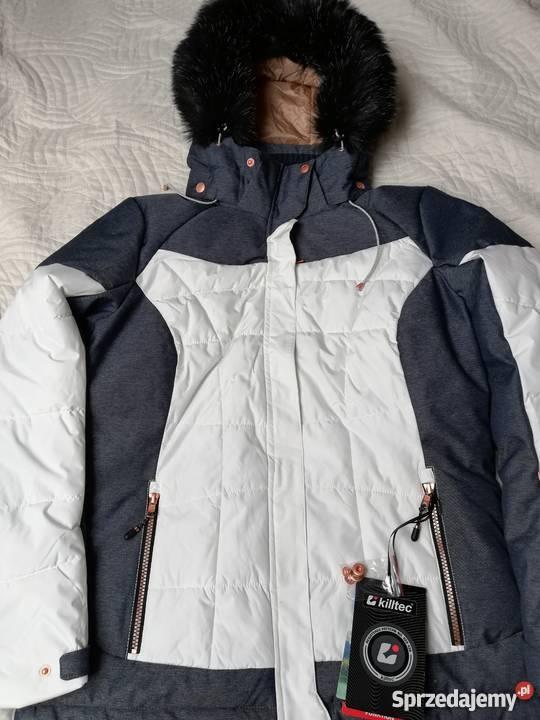735d7f2607 biała kurtka narciarska - Sprzedajemy.pl