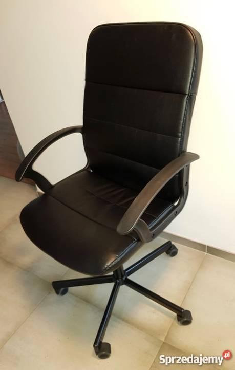 Fotel Biurowy Krzesło Ikea Renberget Warszawa