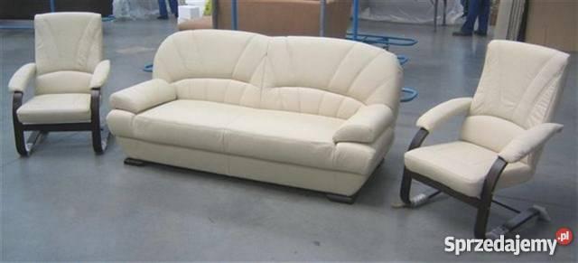 Kanapa sofa wersalka PORTO rozkładana naturalna Łóżka, wersalki i sofy