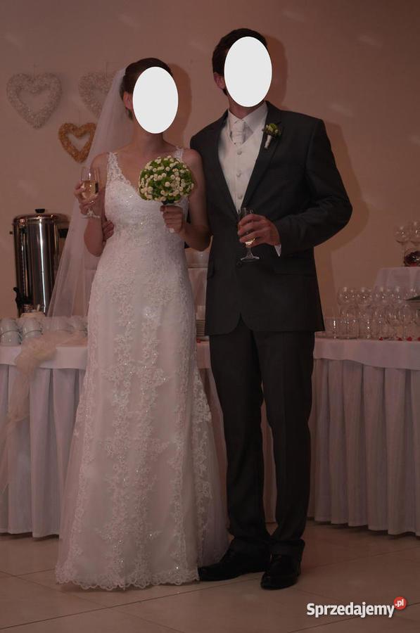 97226827bd Koronkowa suknia ślubna - Sprzedajemy.pl