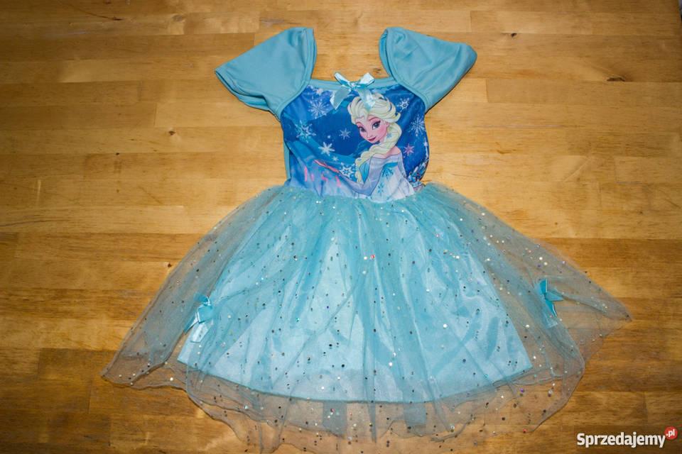 560183ea45 Sukienka Elsa z Krainy Lodu Rzeszów - Sprzedajemy.pl